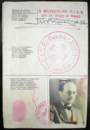 Eichmann fake passport