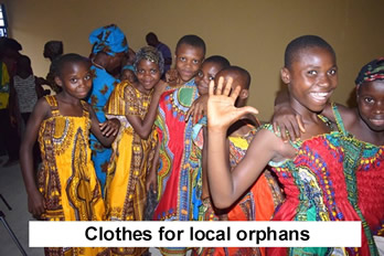 clothes for orphans