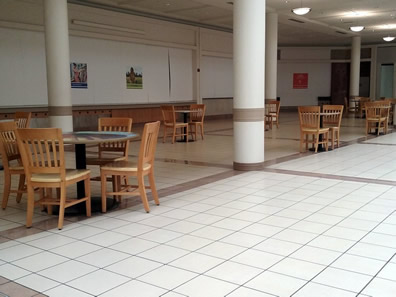 empty food court